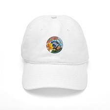 Healing Circle - white Baseball Baseball Cap