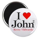I Heart John / I Love John Magnet