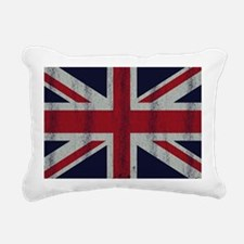 British UK Flag Union Ja Rectangular Canvas Pillow
