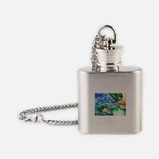 Dreaming. Flask Necklace