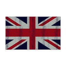 British UK Flag Union Jack Gr Rectangle Car Magnet