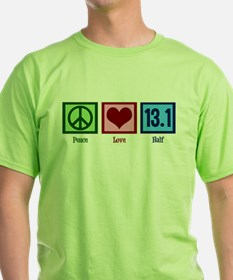 Peace Love 13.1 T-Shirt