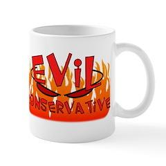 Evil Consevative To Do List Wrap Around Mug