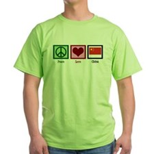 Peace Love China T-Shirt