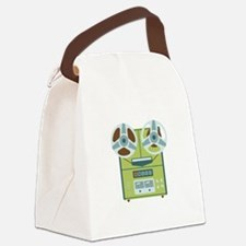 Reel to Reel Recorder Canvas Lunch Bag