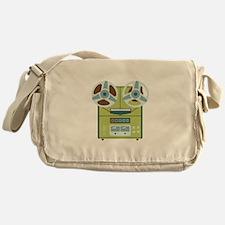 Reel to Reel Recorder Messenger Bag