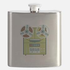 Reel to Reel Recorder Flask