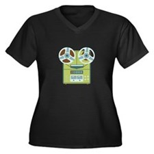 Reel to Reel Recorder Plus Size T-Shirt