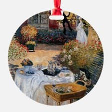 The Luncheon by Claude Monet Ornament