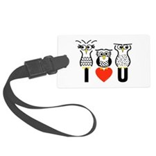 Say it with Owls Luggage Tag