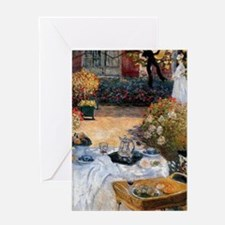The Luncheon by Claude Monet Greeting Card