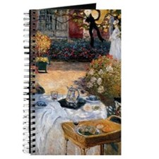 The Luncheon by Claude Monet Journal