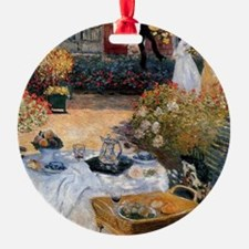 The Luncheon Monet Ornament