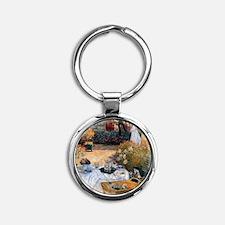 The Luncheon Monet Round Keychain