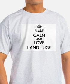 Keep calm and love Land Luge T-Shirt