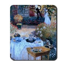 The Luncheon by Monet Mousepad