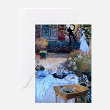 The Luncheon by Monet Greeting Card