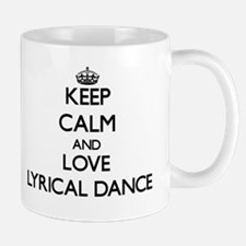 Keep calm and love Lyrical Dance Mugs