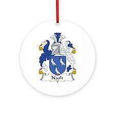 Nash Ornament (Round)