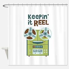 Keepin it Reel Shower Curtain