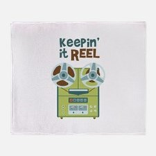 Keepin it Reel Throw Blanket