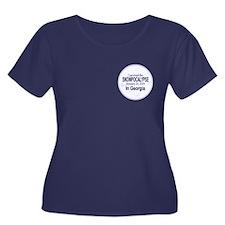 Snowcopalypse in Georgia Plus Size T-Shirt