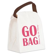 Go-Bag Canvas Lunch Bag