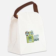 AV Dept Canvas Lunch Bag