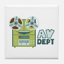 AV Dept Tile Coaster