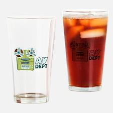 AV Dept Drinking Glass