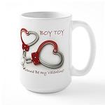 Boy Toy Valentine for Him Mugs