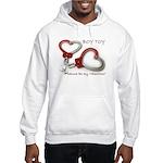 Boy Toy Valentine for Him Hoodie