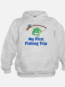 My First Fishing Trip Hoodie