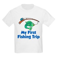 My First Fishing Trip T-Shirt