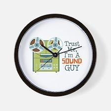 Trust Me Im a Sound Guy Wall Clock