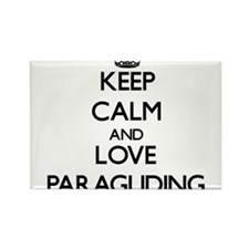 Keep calm and love Paragliding Magnets