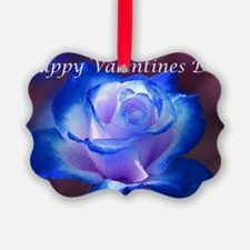 Blue Rose Ornament