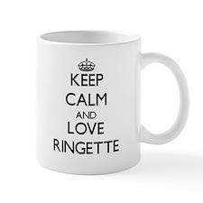Keep calm and love Ringette Mugs