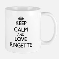 Keep calm and love Ringette Mugs