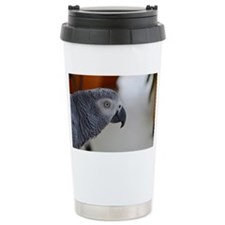 Congo African Grey Parr Travel Mug