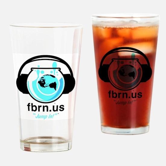 Fbrn Logo Drinking Glass