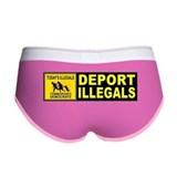 Sheriff joe arpaio pink Ladies Boy Shorts