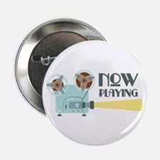 """Now Playing 2.25"""" Button"""