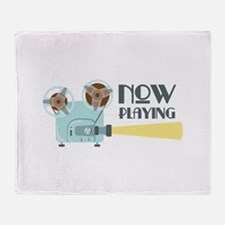 Now Playing Throw Blanket