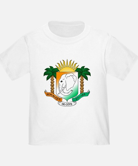 Ivory Coast or Cote d'Ivoire Coat of Arms T-Shirt