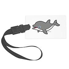Dolphin (2) Luggage Tag
