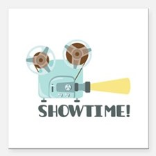 "Showtime Square Car Magnet 3"" x 3"""