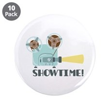 """Showtime 3.5"""" Button (10 pack)"""