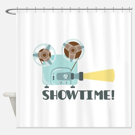 Showtime Shower Curtain