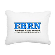 FBRN Call Letters Rectangular Canvas Pillow